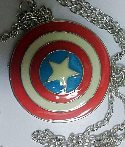 colgante escudo Capitán América