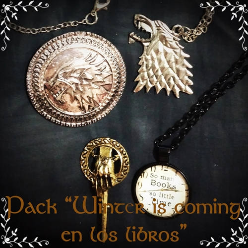 Pack winter is coming en los libros