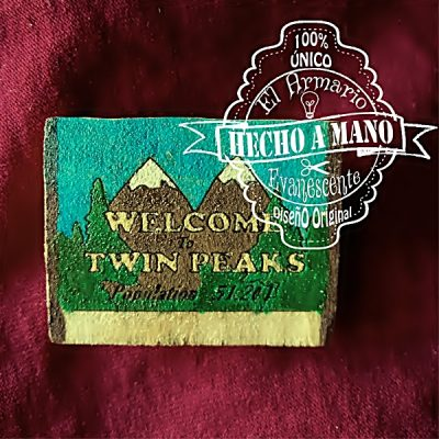 Broche Twin Peaks Welcome