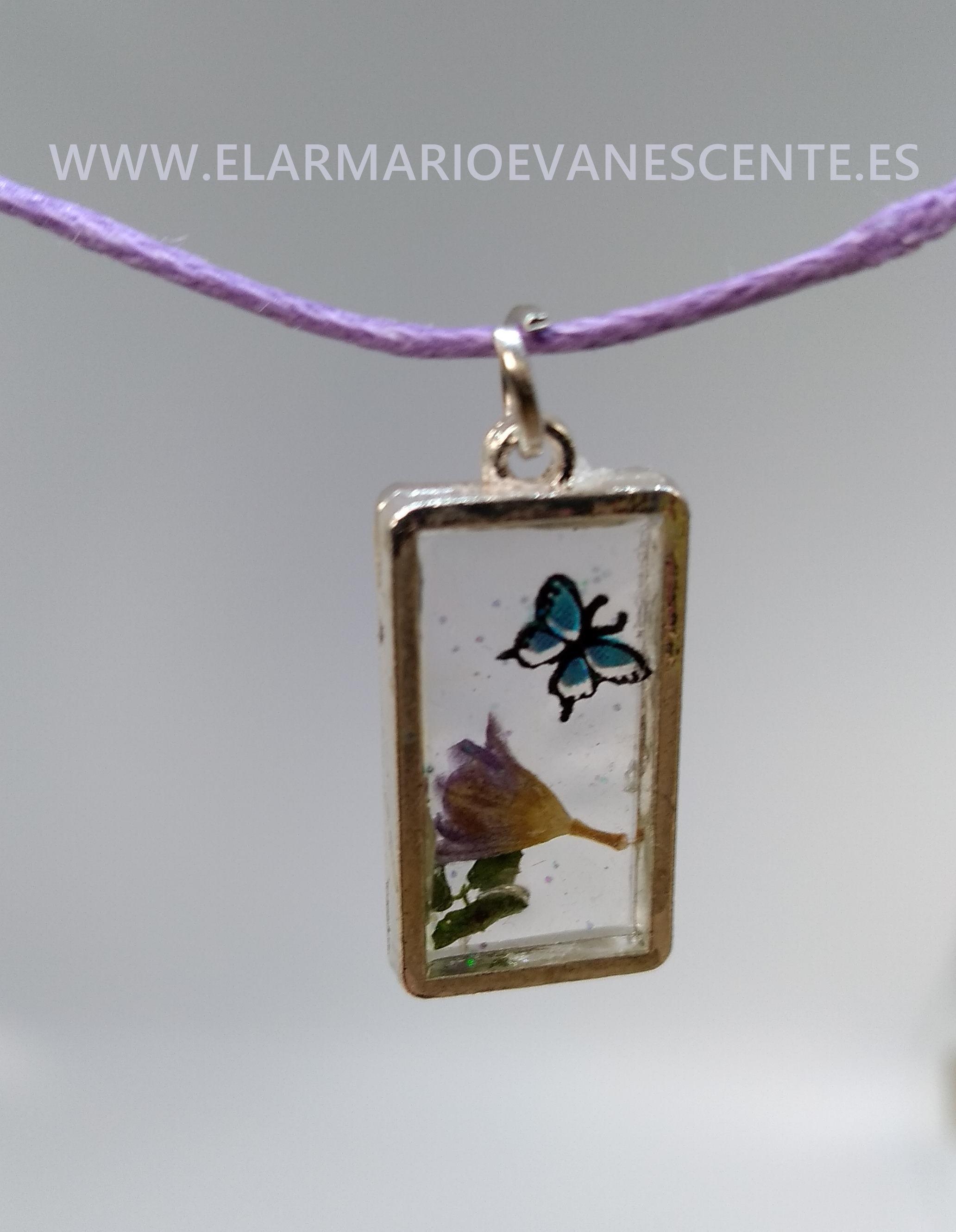 La mariposa y la flor MA