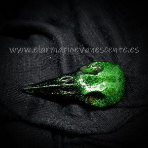 Máscara peste verde